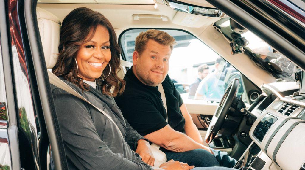 Видео: Известные актёры сыграли в доджбол с Мишель Обамой и Джеймсом Корденом