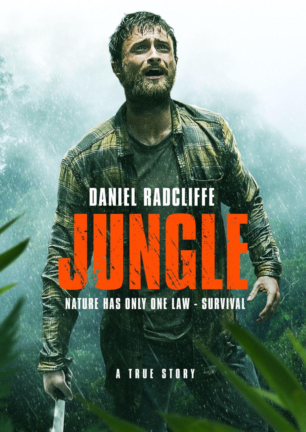 Дэниэл Рэдклифф на новом постере триллера «Джунгли»
