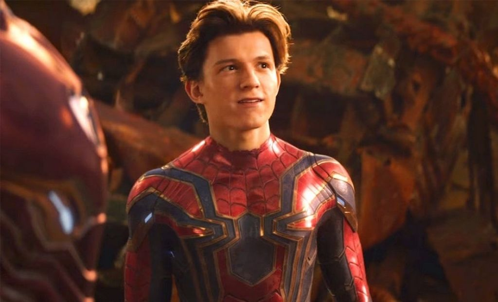 Том Холлэнд на видео со съёмок «Человека-паука: Вдали от дома»
