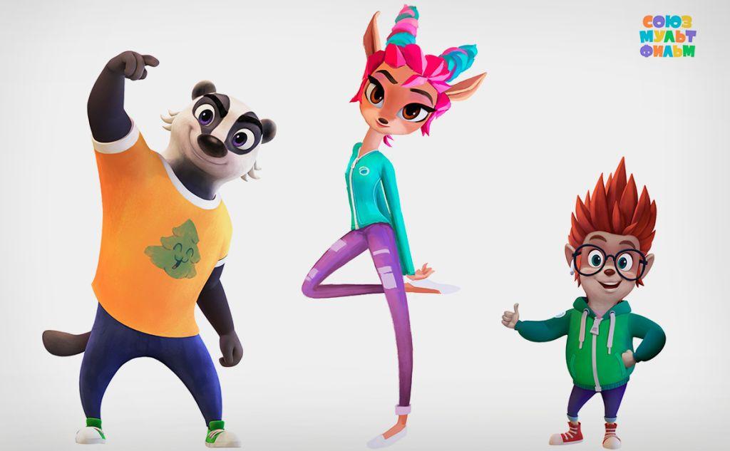 «Союзмультфильм» показал трех новых героев «Ну, погоди!»