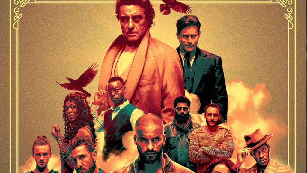 Свежий плакат второго сезона «Американских богов»
