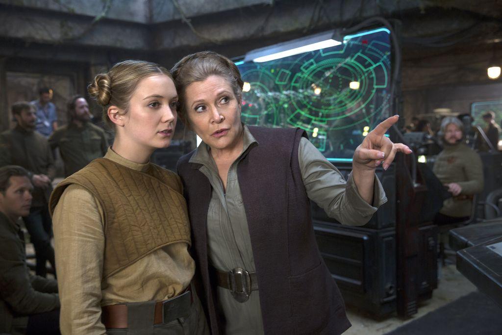 Дочь Кэрри Фишер настояла на сцене с матерью в новых «Звёздных войнах»