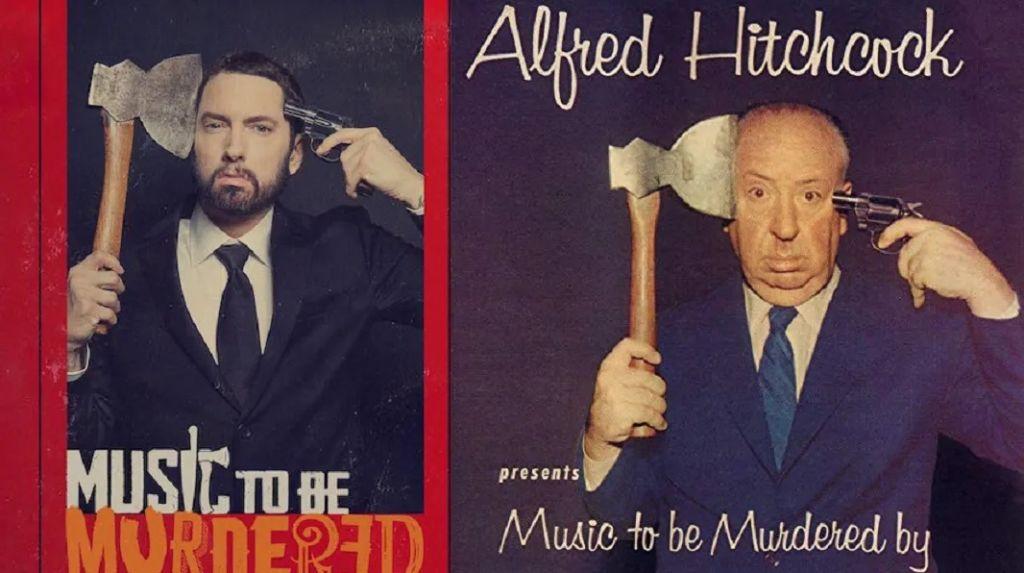 Эминем выпустил альбом, вдохновлённый Альфредом Хичкоком