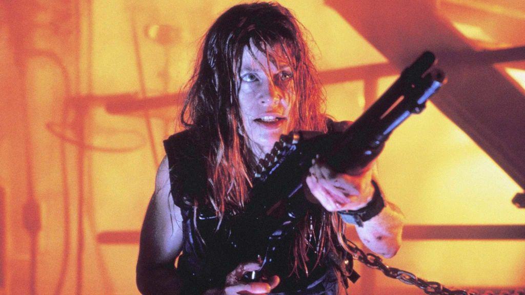 Линда Хэмилтон на фото со съёмок шестого «Терминатора»