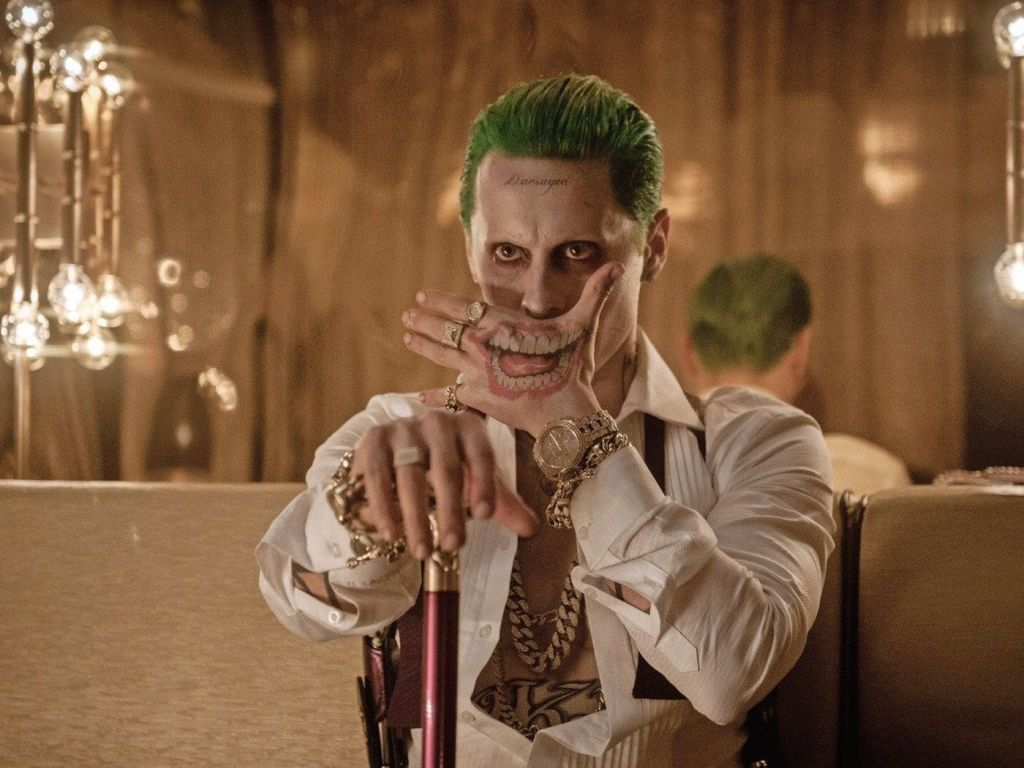 """Zack Snyder showed a new shot with the Joker from """"Justice League"""""""