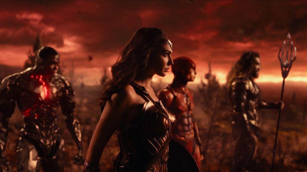 Каскадеры «Лиги справедливости» показали ролик с битвами из оригинальной версии