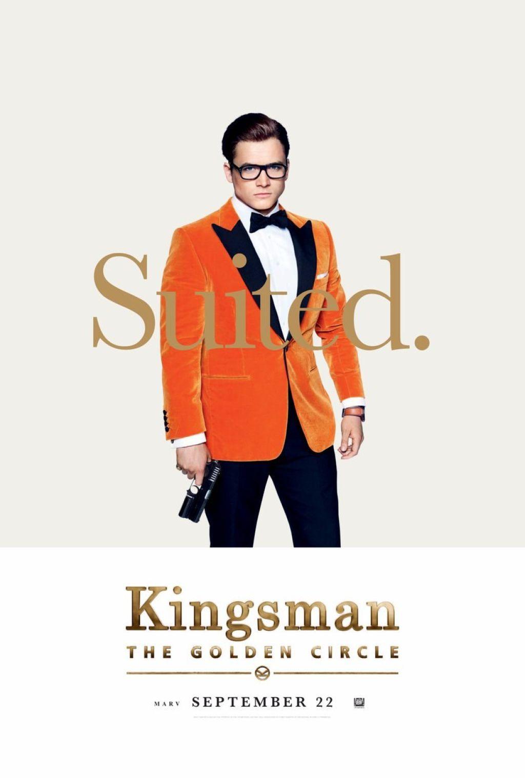 Бесцензурный трейлер кинокомикса «Kingsman: Золотое Кольцо»