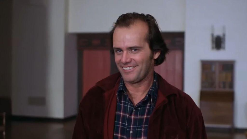 Видео на вечер: Джек Николсон из «Сияния» превратился в Джима Керри
