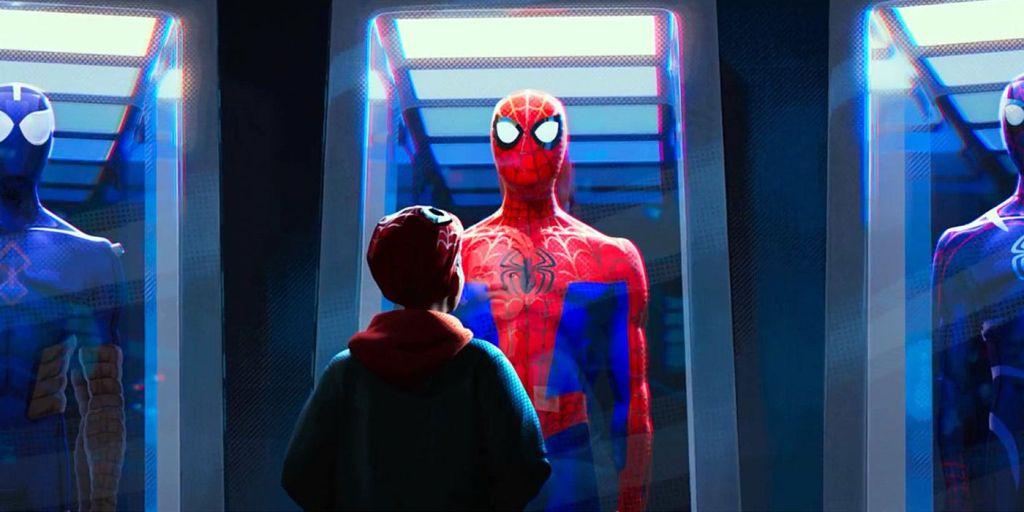 Трейлер мультфильма «Человек-паук: Через вселенные»