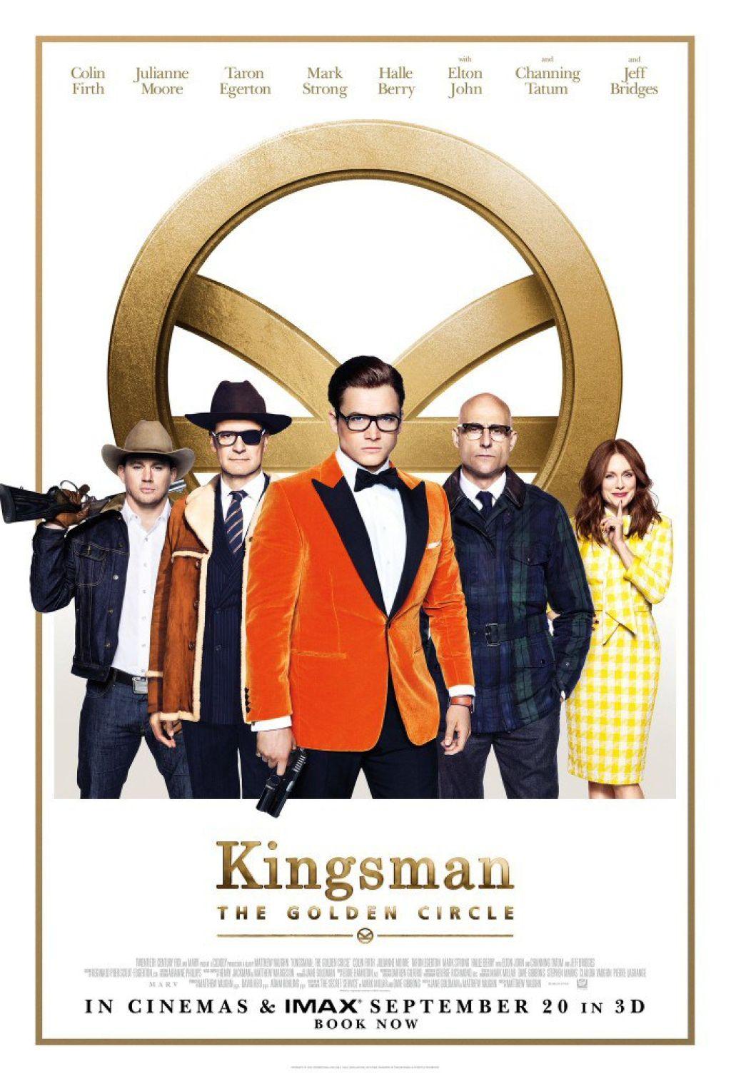 Промо-ролик кинокомикса «Kingsman: Золотое кольцо»