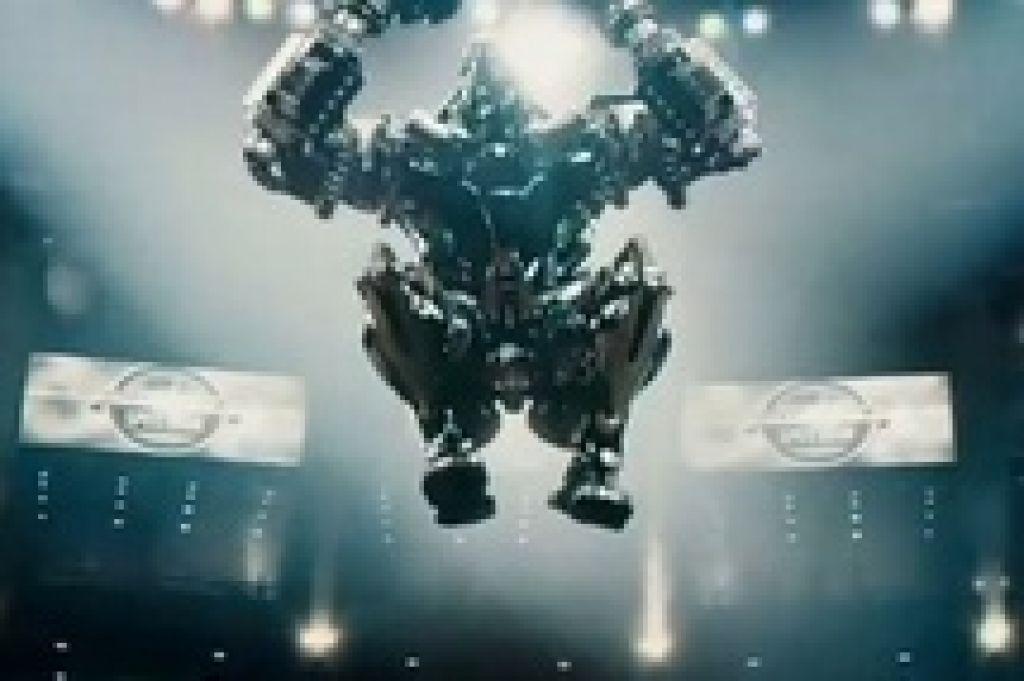 Хью Джекман и роботы-боксеры бросают вызов