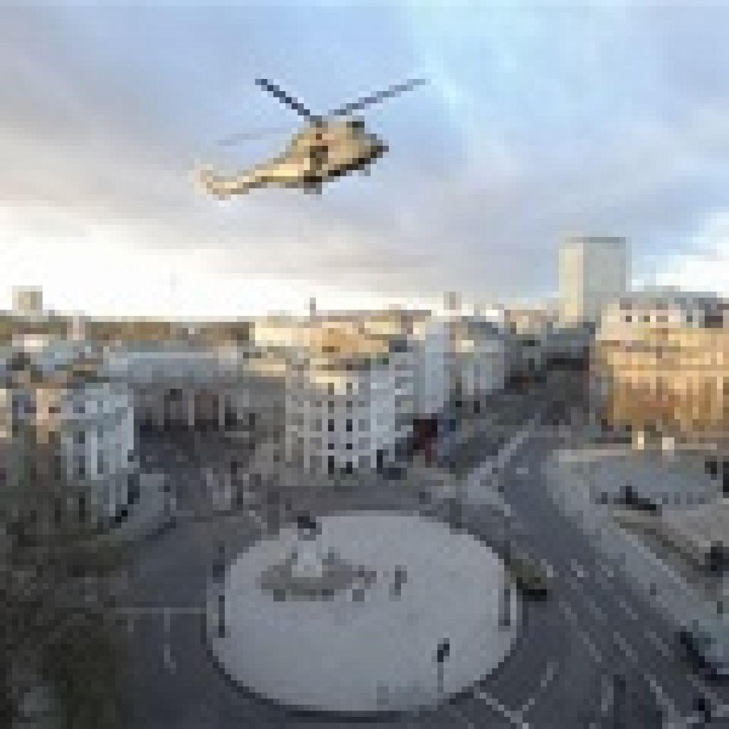 Одна из главных достопримечательностей Лондона на время стала съемочной площадкой фильма