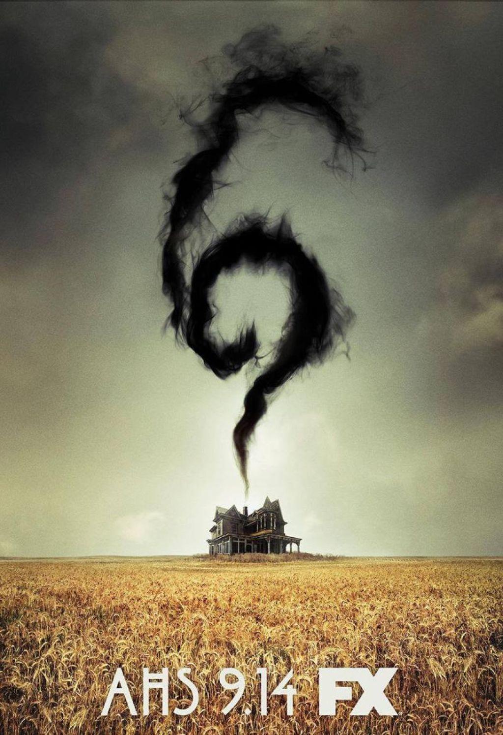 Постер 6 сезона «Американской истории ужасов»