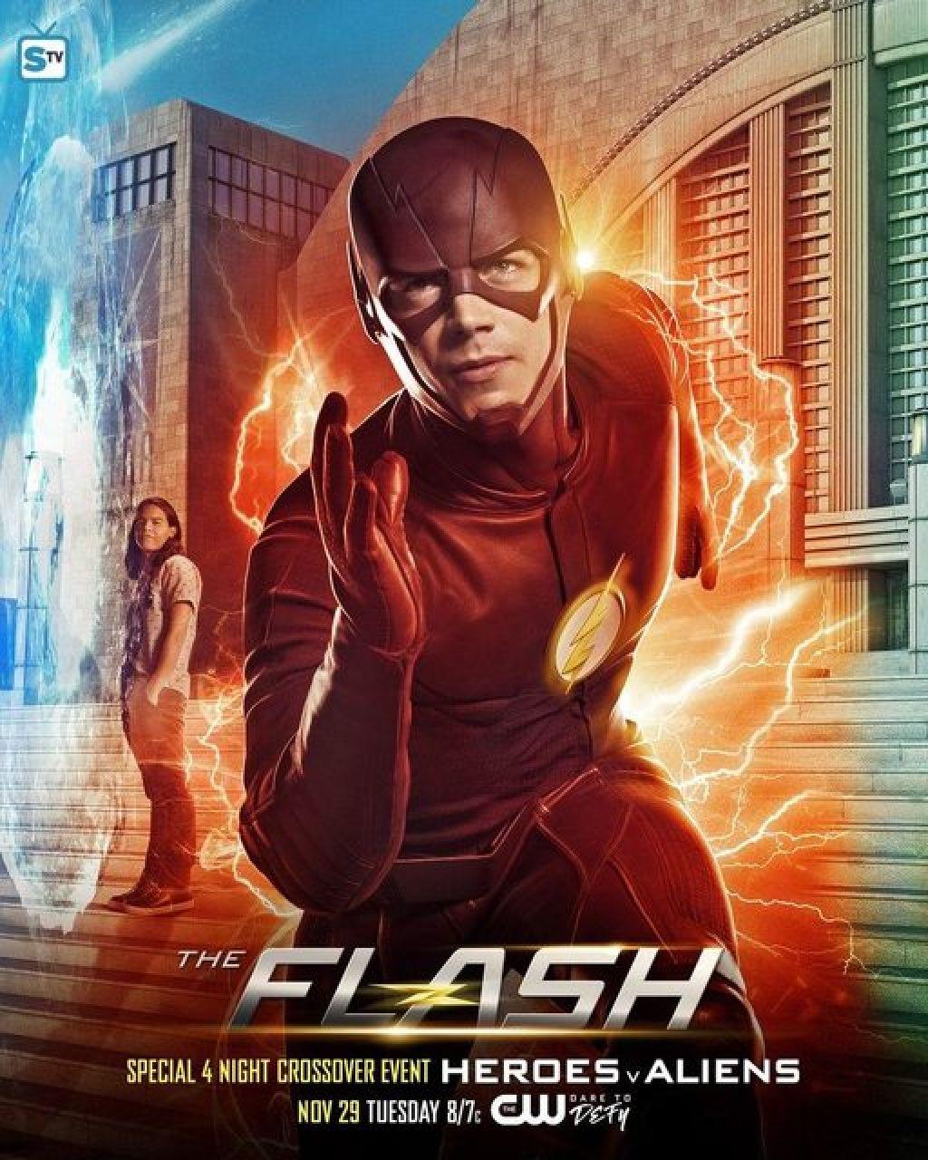 Полный трейлер кросссовера сериалов DC и The CW