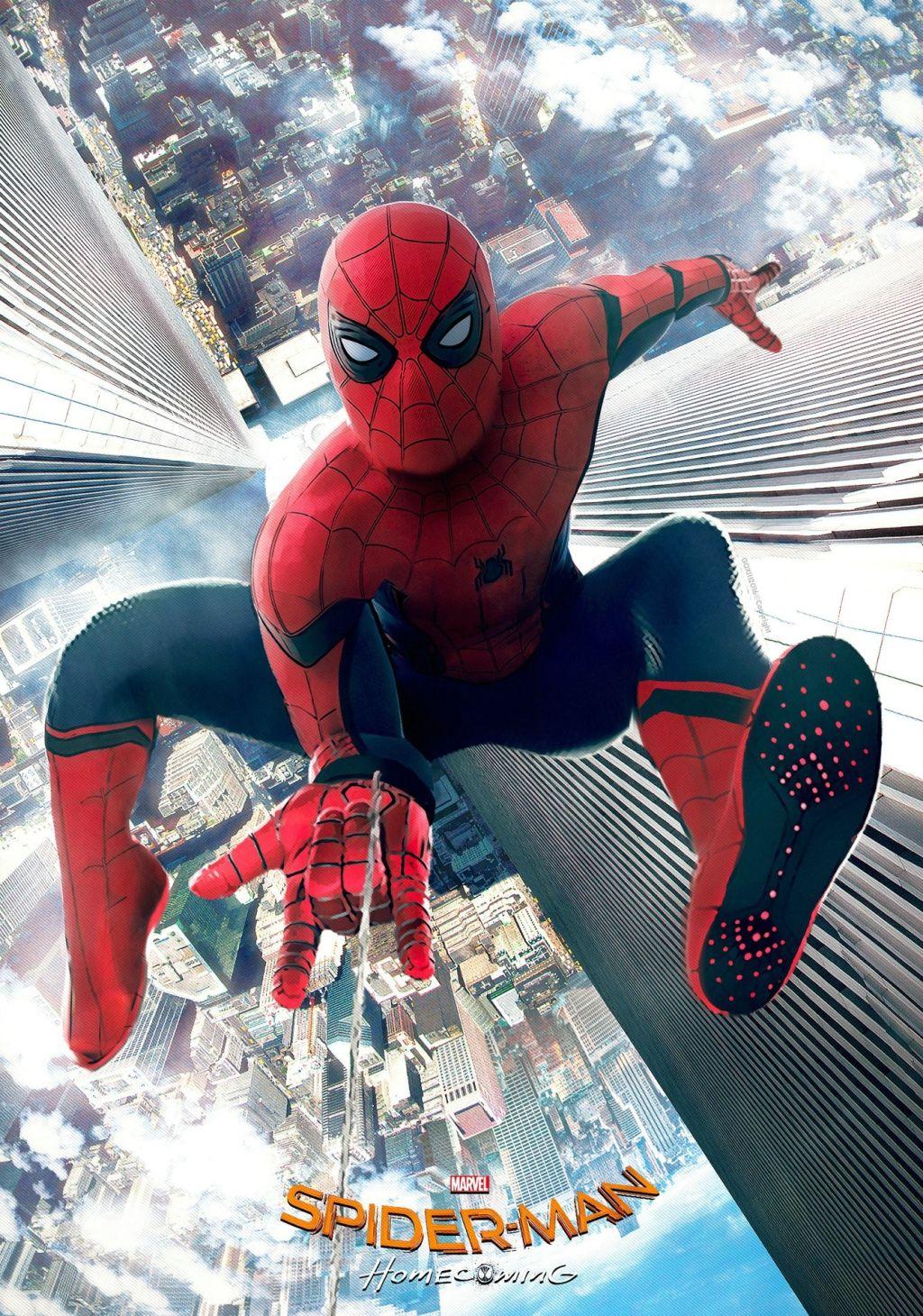 Баннер «Человека-паука: Возвращение домой»