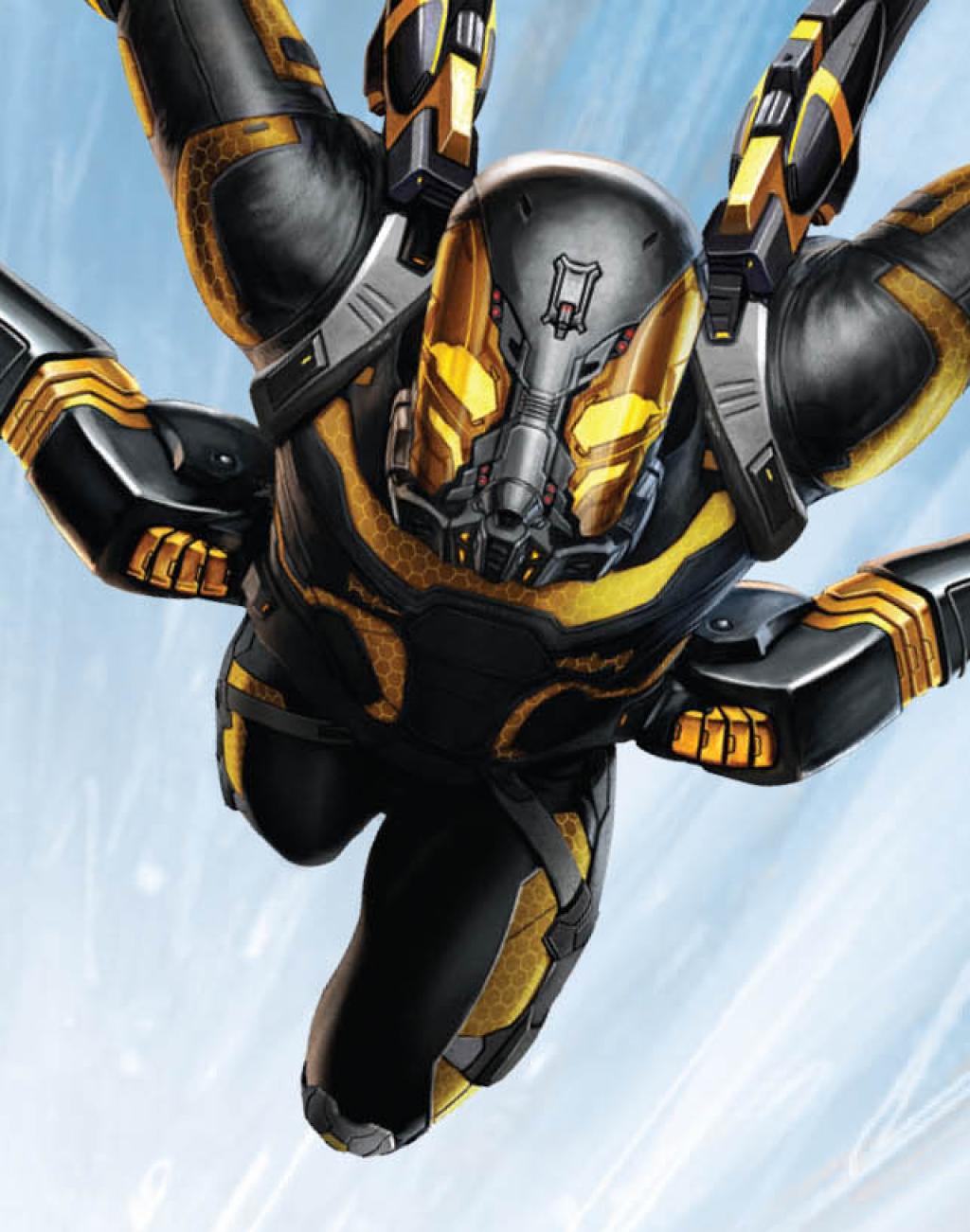 Новый баннер картины «Человек-муравей»