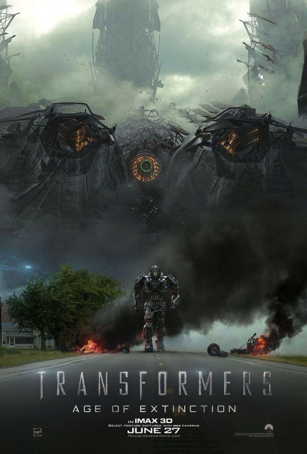 """Новый постер фильма """"Трансформеры: Эпоха Истребления"""""""