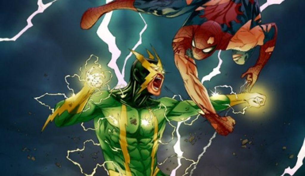 Судя по первым снимкам, о зелено-желтой раскраске комиксового антагониста можно забыть. Новый Электро будет голубым