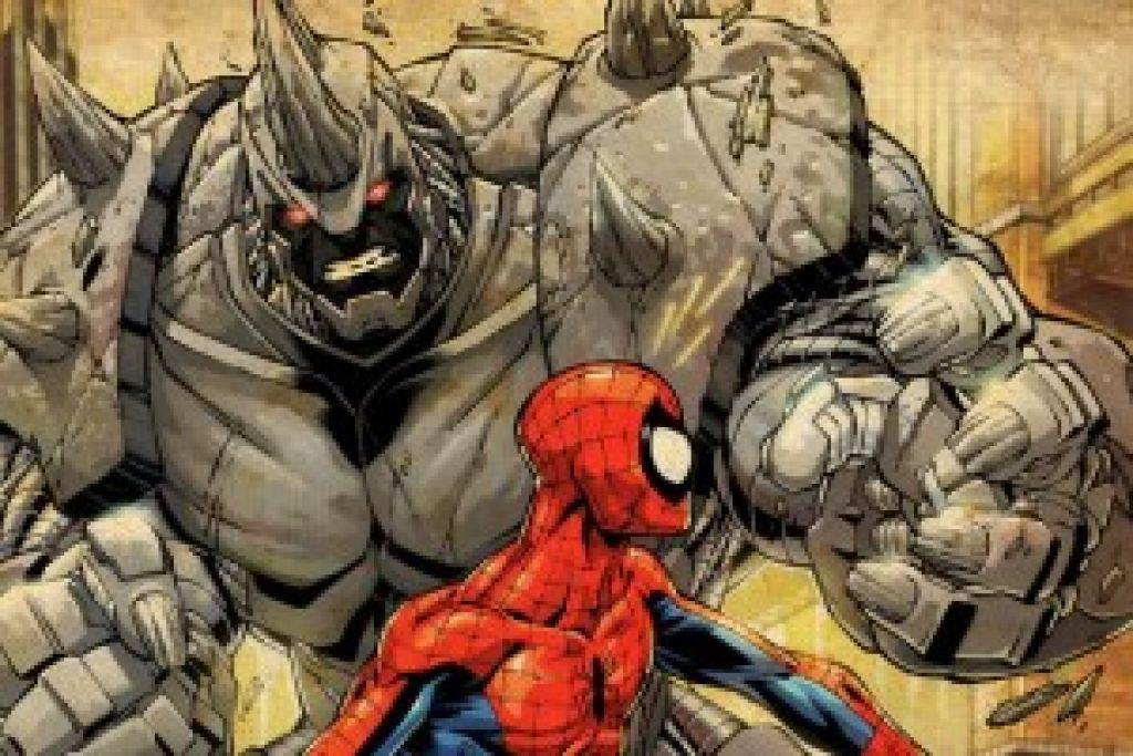 """Режиссер сиквела """"Нового Человека-паука"""" через свой Твиттер представил злодея Питера Паркера носорога Рино"""
