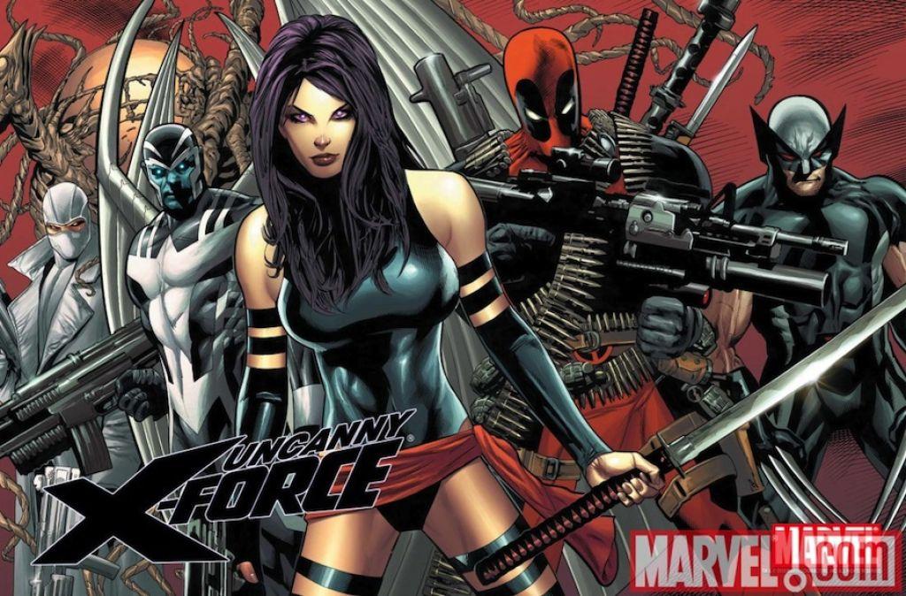 """На экран перенесут комикс """"X-Force"""" о команде мутантов, в которую входят Росомаха, Дэдпул, Псайлок, Архангел и Фантомекс"""