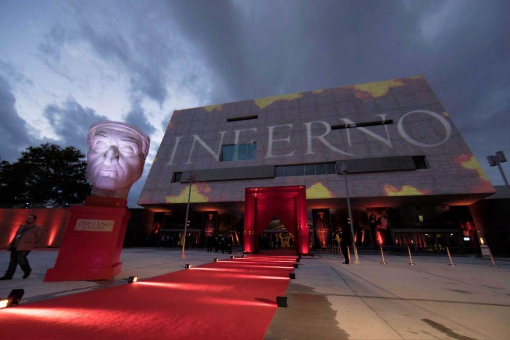 Мировая премьера фильма «Инферно» во Флоренции