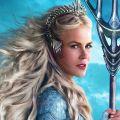 Николь Кидман в режиме «взрывной блондинки» в отрывке из «Аквамена»