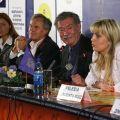 Пресс-конференция Рауля Руиса, Валерии Сарменто Руис и Дитера Похлатко