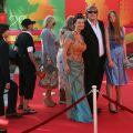 Звездная дорожка церемонии открытия ММКФ-2007. Лестница