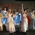 Празднование окончания съемок фильма «Возвращение мушкетеров»