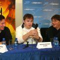 Пресс-конференция Валерия Тодоровского и группы фильма «Тиски»