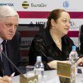 Фоторепортаж с пресс-конференции 30 Московского кинофестиваля
