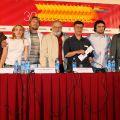 Пресс-конференция группы фильма «Райские птицы»
