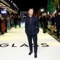 """The premiere of the comic thriller """"Glass"""" in London"""