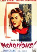 """Постер 2 из 2 из фильма """"Дурная слава"""" /Notorious/ (1946)"""