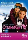 """Постер 2 из 4 из фильма """"Как выйти замуж за миллиардера"""" /Chalet Girl/ (2010)"""