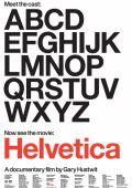 """Постер 1 из 2 из фильма """"Гельветика"""" /Helvetica/ (2007)"""