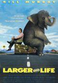 """Постер 2 из 3 из фильма """"Больше, чем жизнь"""" /Larger Than Life/ (1996)"""