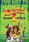 """Постер 2 из 3 из фильма """"Мадагаскар 2"""" /Madagascar: Escape 2 Africa/ (2008)"""