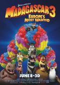 "Постер 12 из 12 из фильма ""Мадагаскар 3"" /Madagascar 3: Europe's Most Wanted/ (2012)"