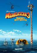 "Постер 2 из 12 из фильма ""Мадагаскар 3"" /Madagascar 3: Europe's Most Wanted/ (2012)"