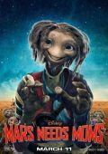 """Постер 3 из 7 из фильма """"Тайна Красной планеты"""" /Mars Needs Moms!/ (2011)"""