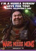 """Постер 6 из 7 из фильма """"Тайна Красной планеты"""" /Mars Needs Moms!/ (2011)"""