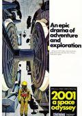 """Постер 11 из 35 из фильма """"2001 год: Космическая одиссея"""" /2001: A Space Odyssey/ (1968)"""