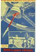 """Постер 32 из 35 из фильма """"2001 год: Космическая одиссея"""" /2001: A Space Odyssey/ (1968)"""