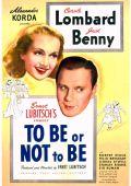 """Постер 1 из 1 из фильма """"Быть или не быть"""" /To Be Or Not To Be/ (1942)"""