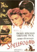 """Постер 2 из 2 из фильма """"Завороженный"""" /Spellbound/ (1945)"""