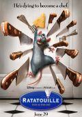 """Постер 1 из 4 из фильма """"Рататуй"""" /Ratatouille/ (2007)"""