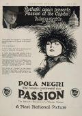 """Постер 1 из 1 из фильма """"Мадам Дюбарри"""" /Madame DuBarry/ (1919)"""