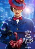 """Постер 8 из 24 из фильма """"Мэри Поппинс возвращается"""" /Mary Poppins Returns/ (2018)"""