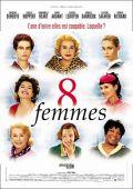"""Постер 14 из 19 из фильма """"8 женщин"""" /8 Frauen/ (2002)"""